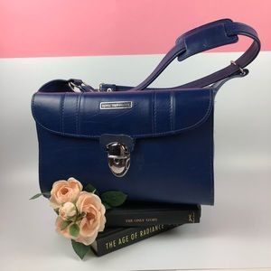 Royal Traveller Soft Sided Carry On Luggage Blue
